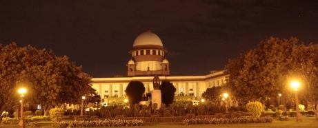 Supreme Court on Thursday early morning. Express Photo by Amit Mehra. 30.07.2015.